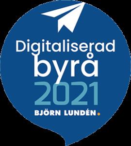 Digitaliserad byrå 3 år i rad